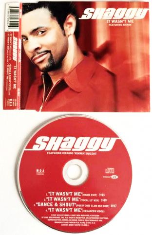 Shaggy - It Wasn't Me (ft Rikrok) (CD Single) (F+/VG)
